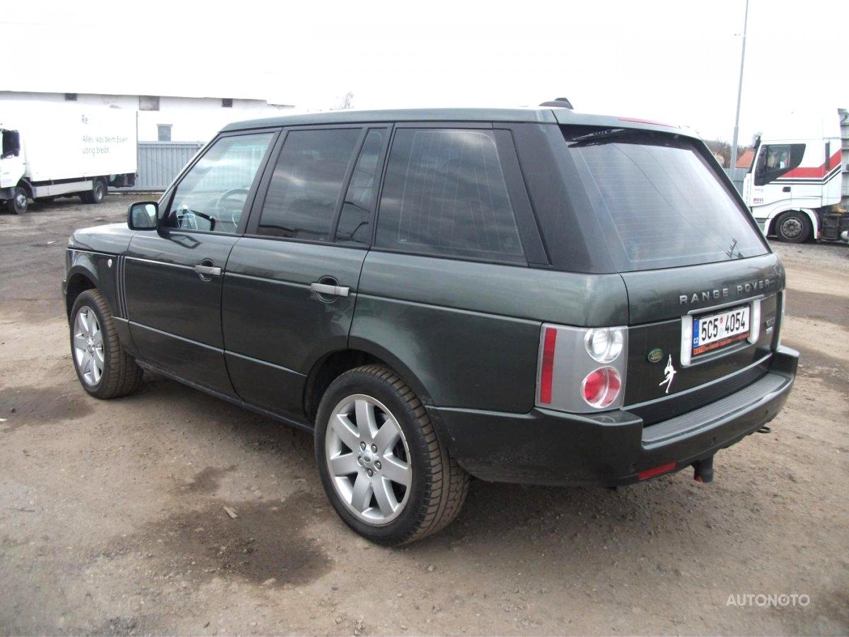 Land Rover Range Rover, 2008 - celkový pohled