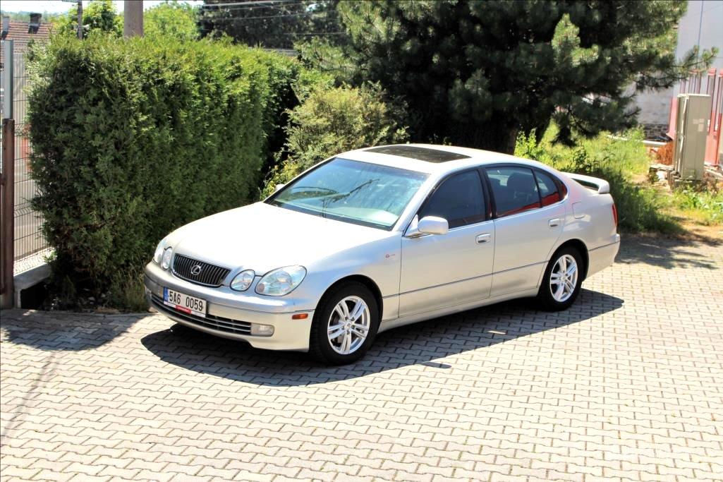 Lexus GS 300, 2002 - celkový pohled