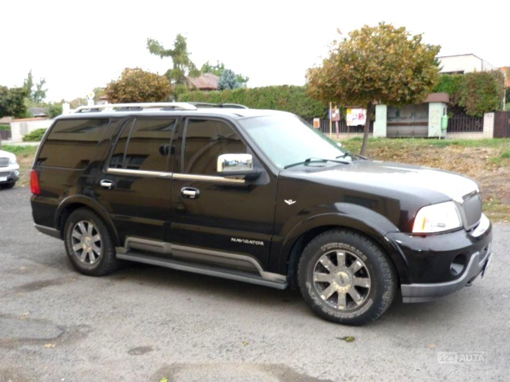Lincoln Navigator, 2002 - celkový pohled