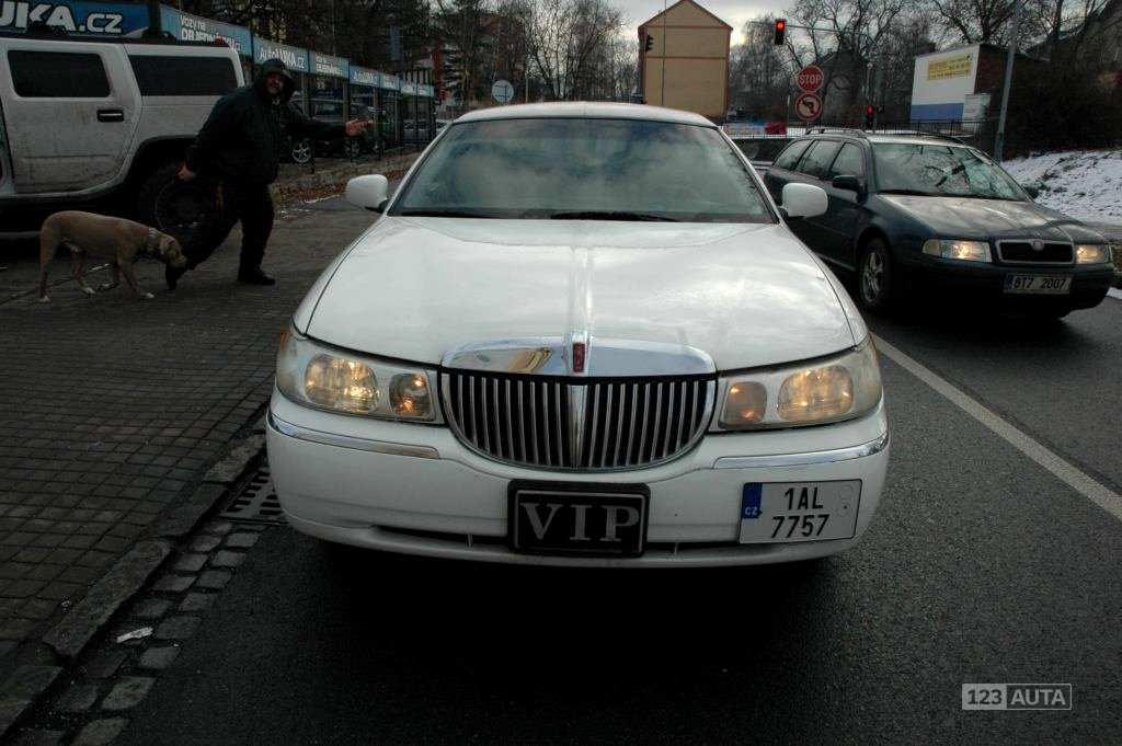 Lincoln Town Car, 1998 - celkový pohled
