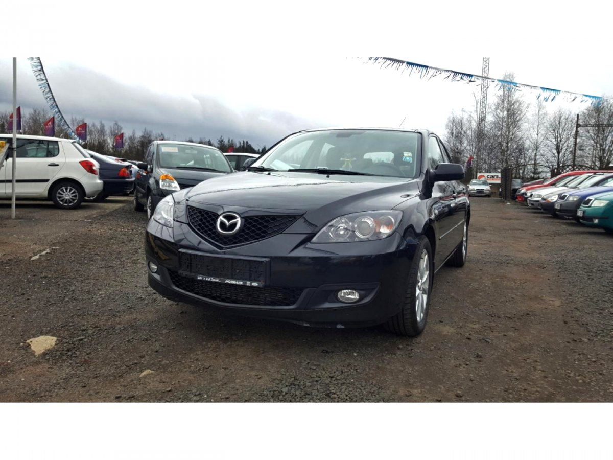 Mazda 3, 2007 - celkový pohled