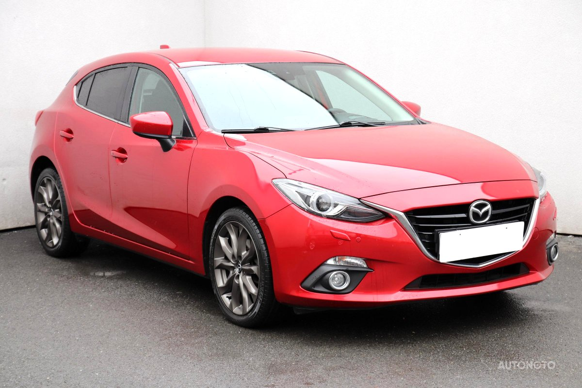 Mazda 3, 2013 - celkový pohled