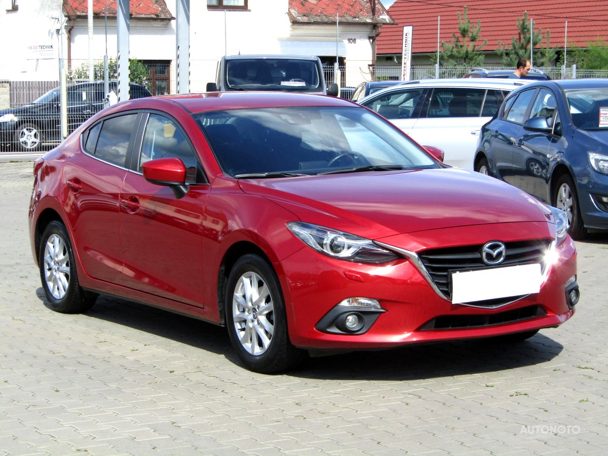 Mazda 3, 2014 - celkový pohled