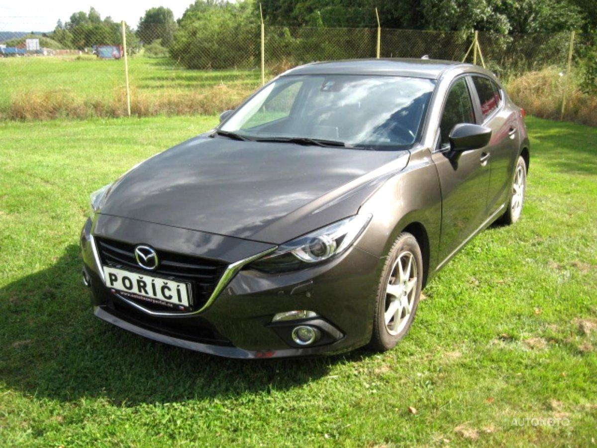 Mazda 3, 2016 - celkový pohled