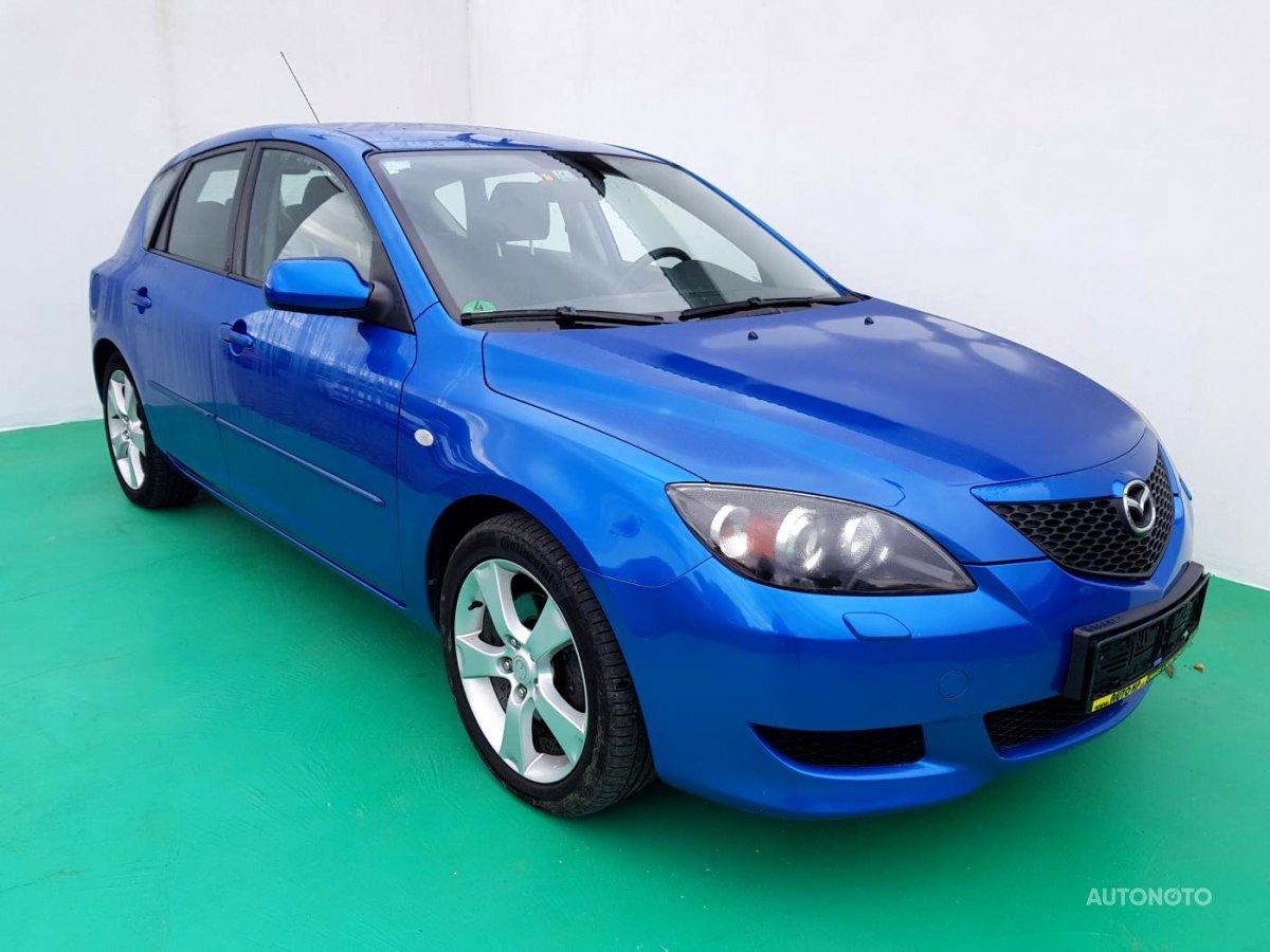 Mazda 3, 2004 - celkový pohled