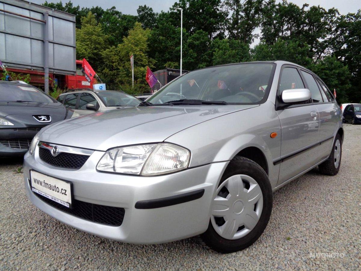 Mazda 323, 2000 - celkový pohled