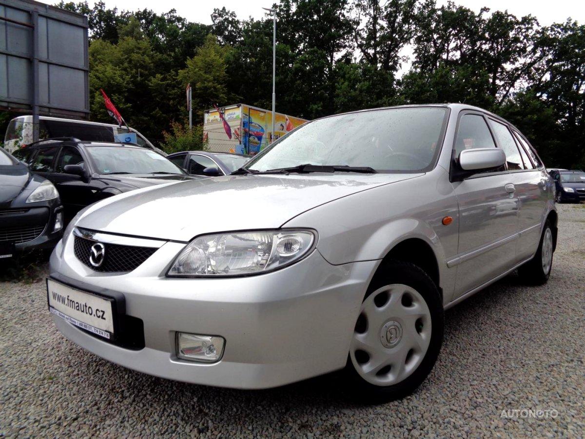 Mazda 323, 2001 - celkový pohled
