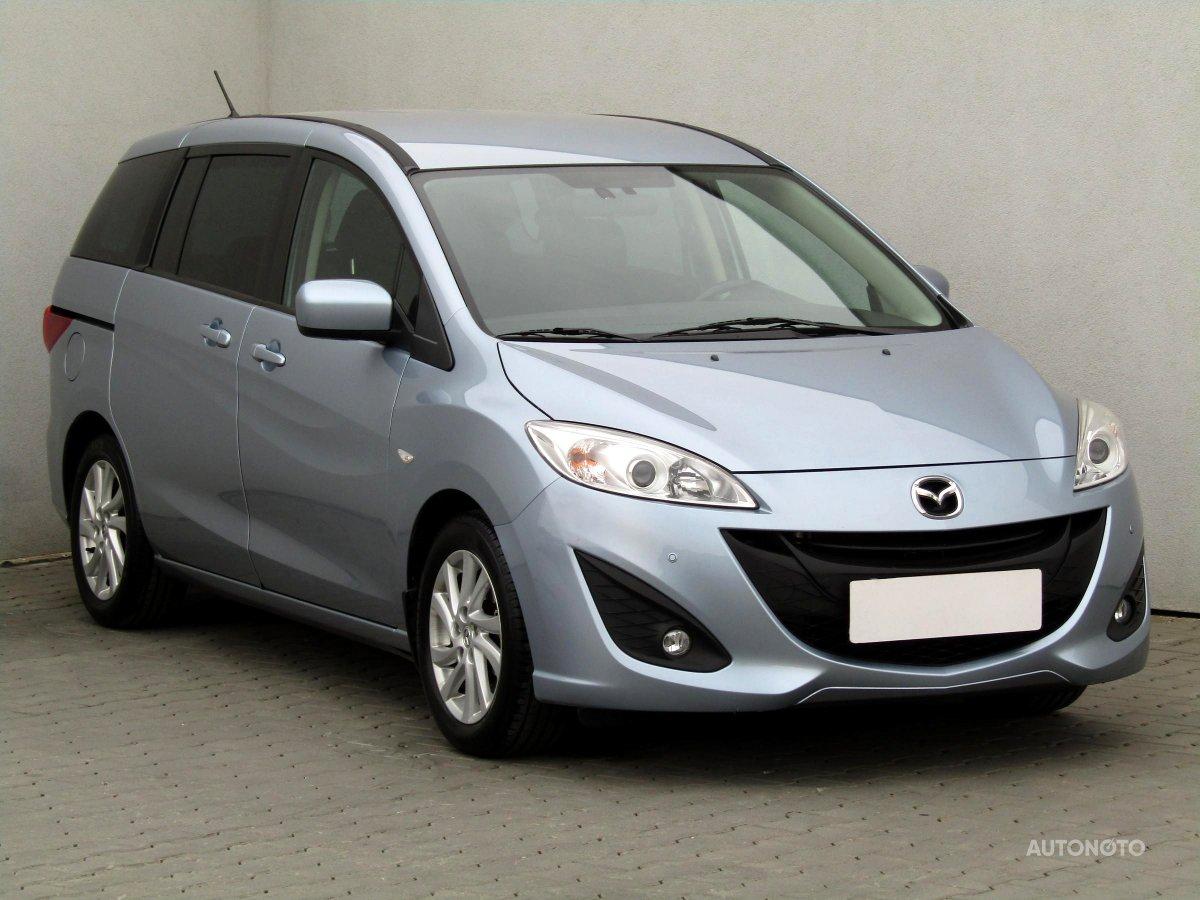 Mazda 5, 2012 - celkový pohled