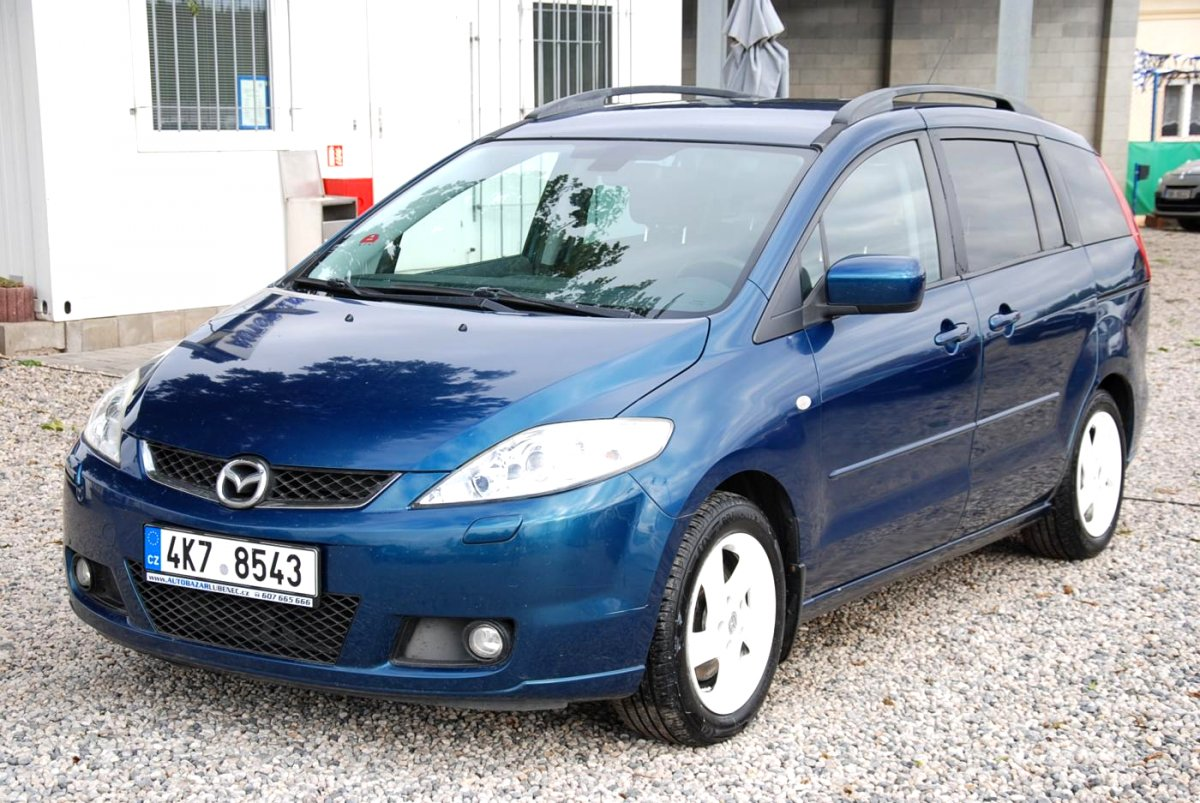 Mazda 5, 2007 - celkový pohled