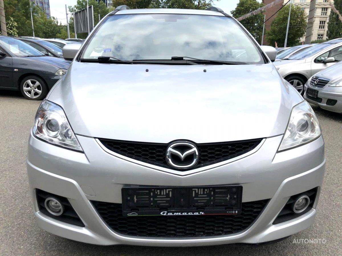 Mazda 5, 2008 - celkový pohled