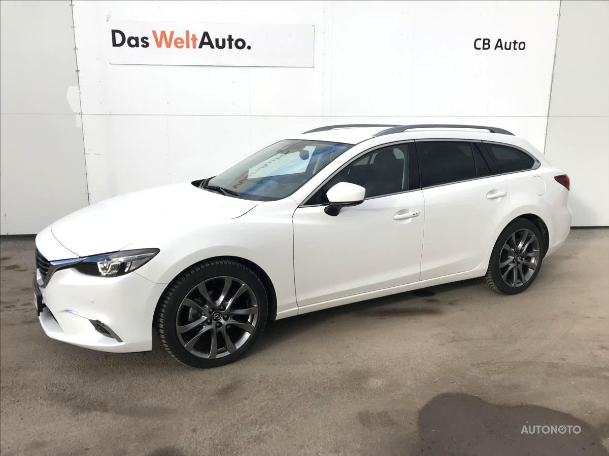 Mazda 6, 2017 - celkový pohled