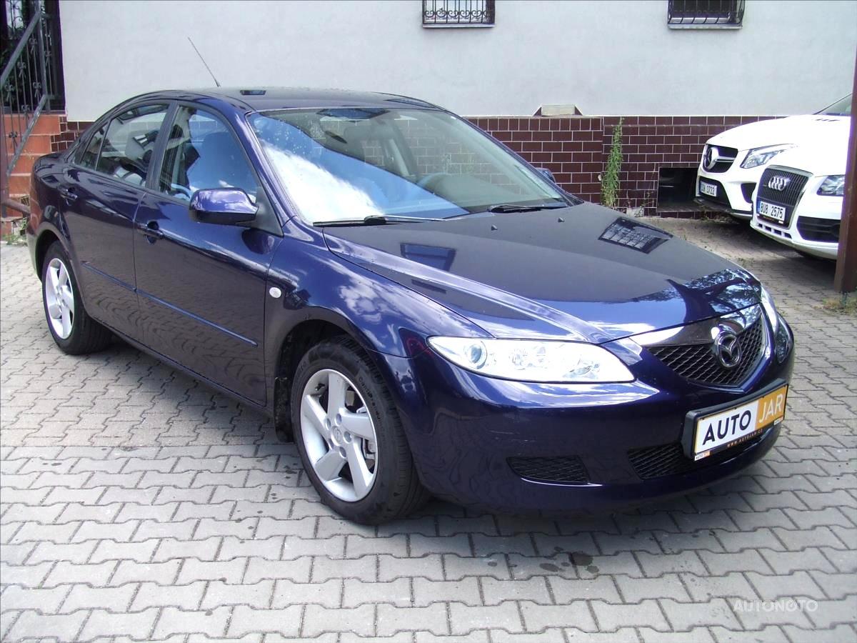 Mazda 6, 2003 - celkový pohled
