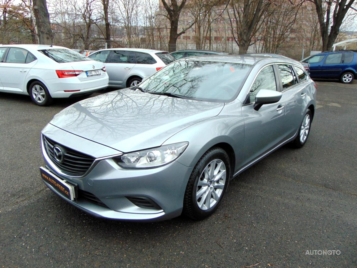 Mazda 6, 2013 - celkový pohled