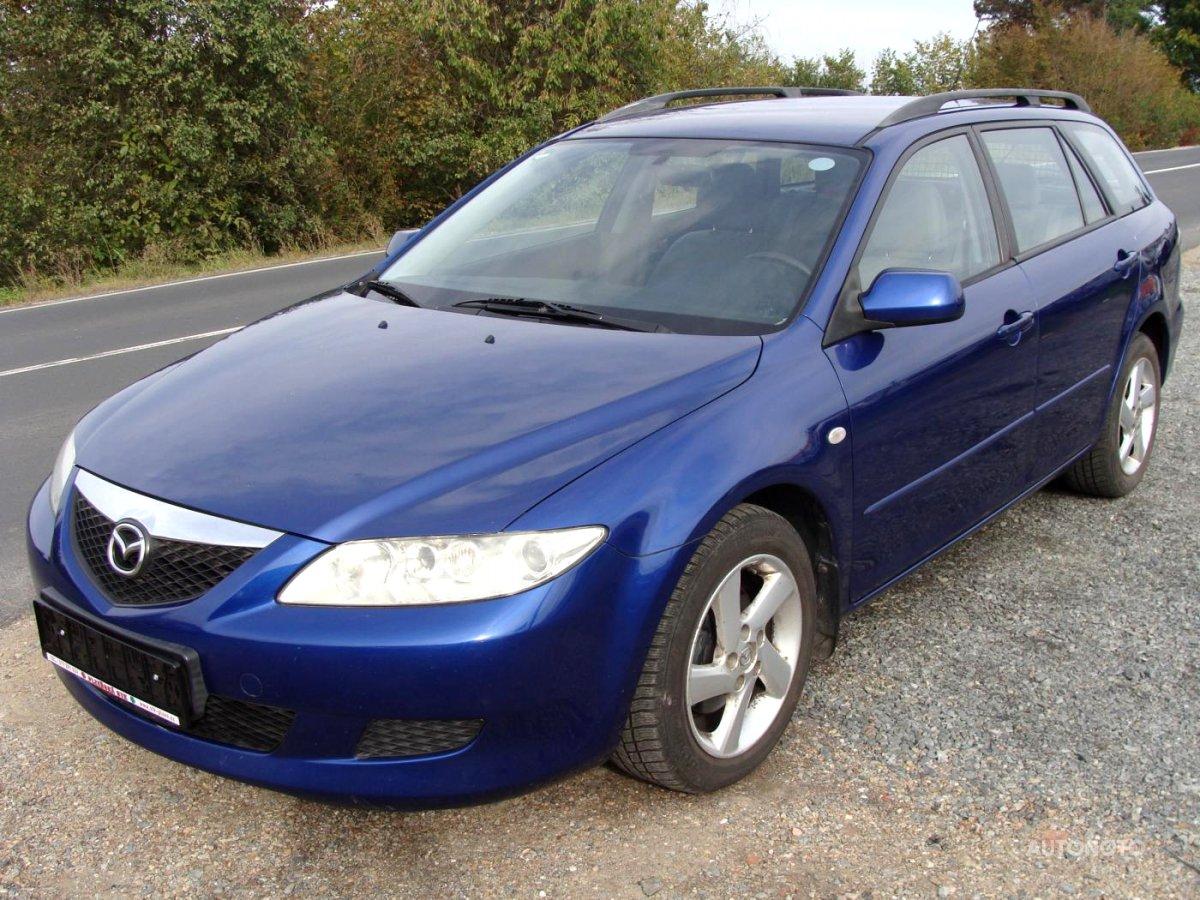 Mazda 6, 2002 - celkový pohled