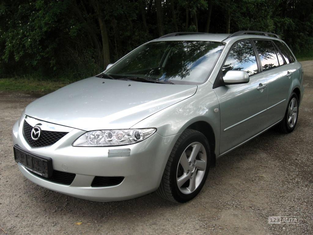 Mazda 6, 2004 - celkový pohled