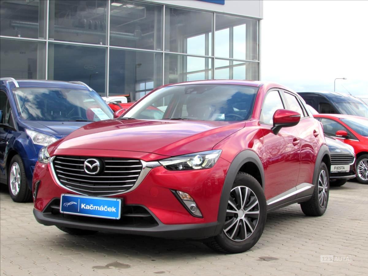 Mazda CX-3, 2017 - celkový pohled