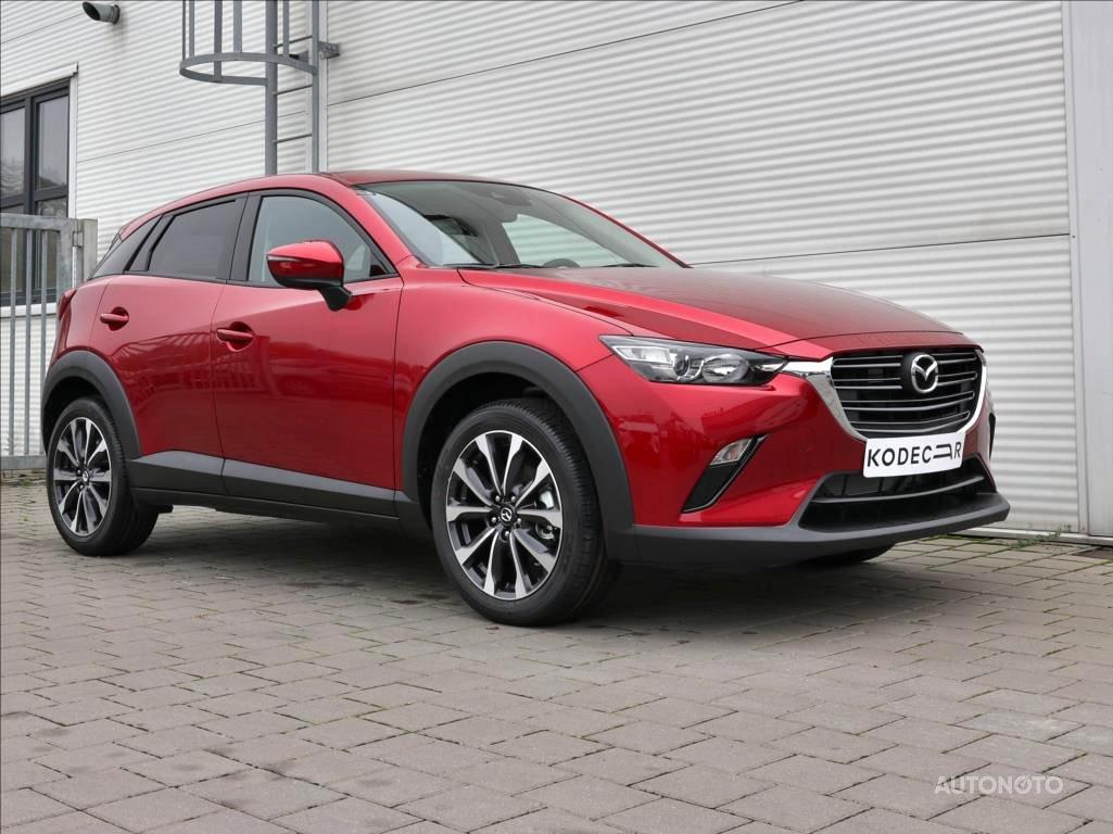 Mazda CX-3, 2019 - celkový pohled