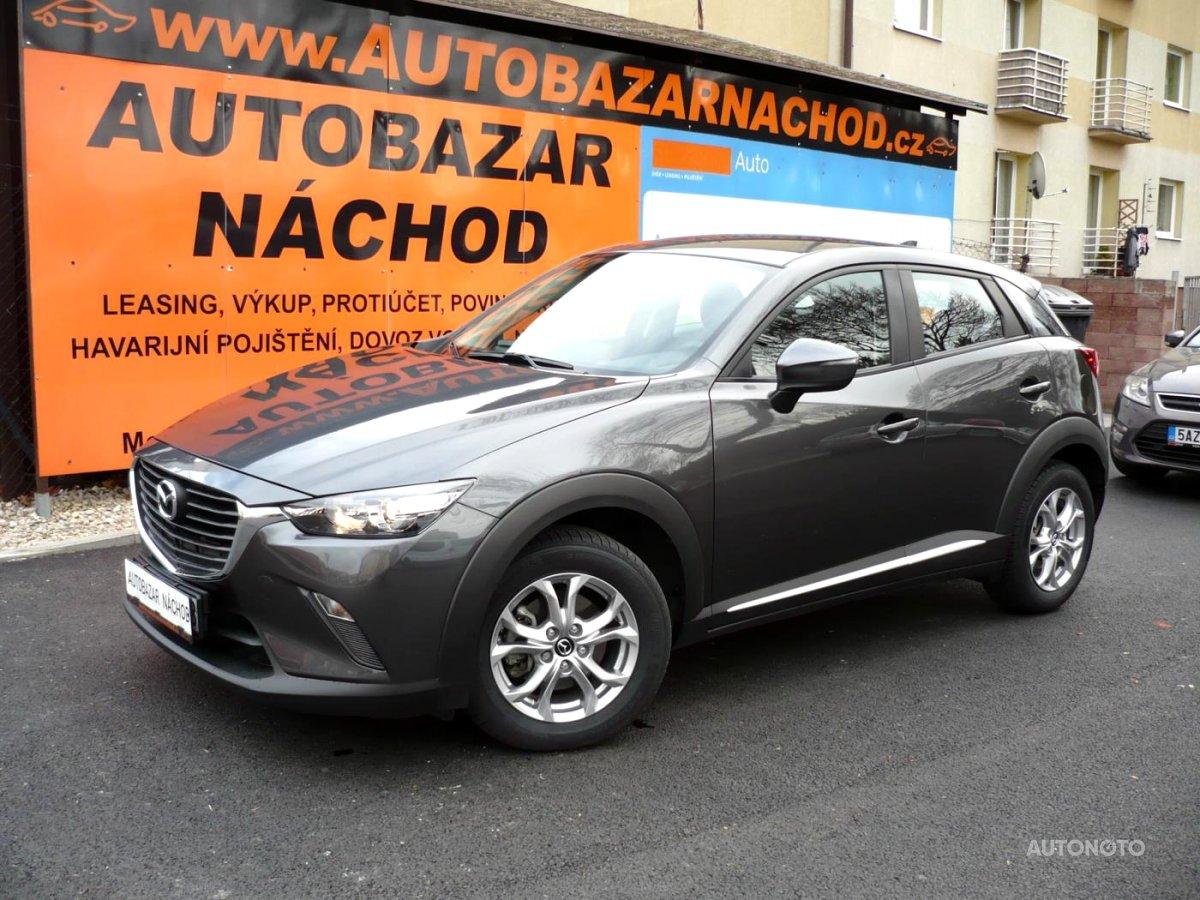 Mazda CX-3, 2018 - celkový pohled