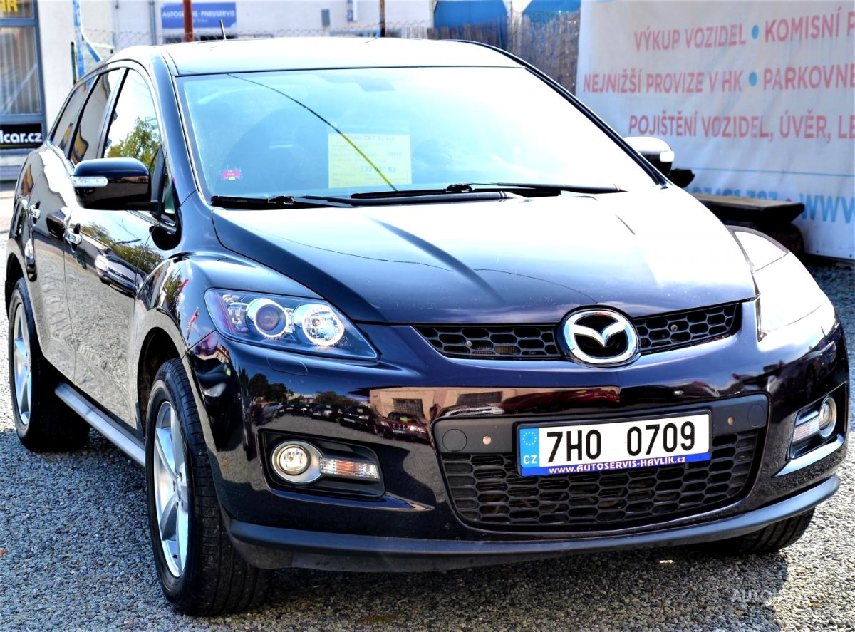 Mazda CX-7, 2010 - celkový pohled
