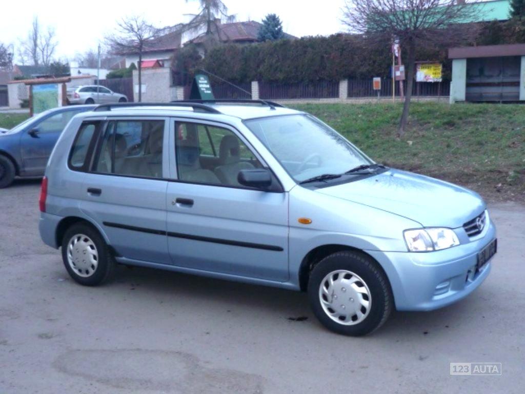 Mazda Demio, 2002 - celkový pohled