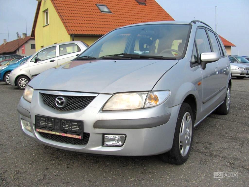 Mazda Premacy, 1999 - celkový pohled