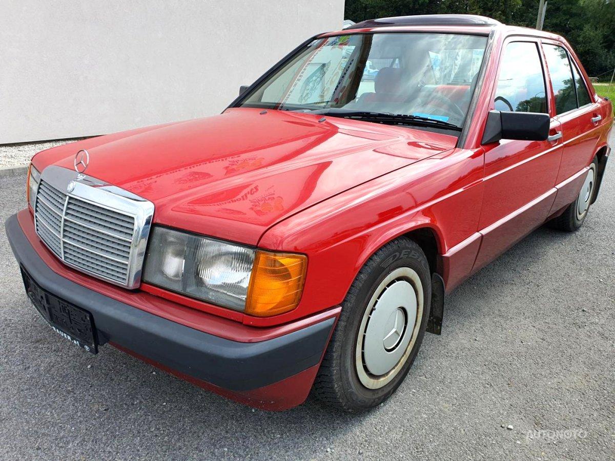 Mercedes-Benz 190, 1989 - celkový pohled