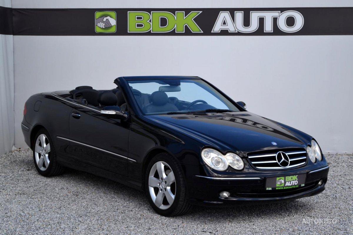 Mercedes-Benz CLK, 2003 - celkový pohled