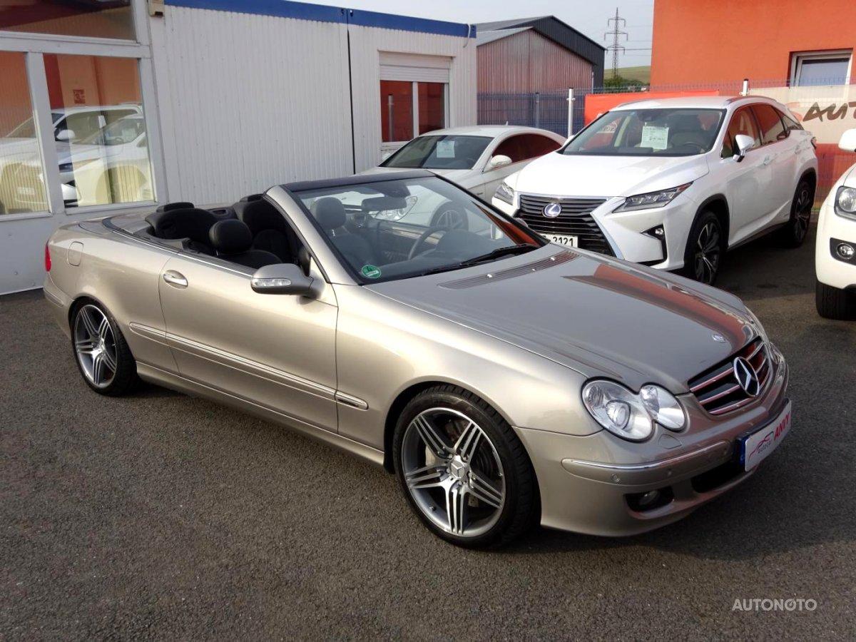 Mercedes-Benz CLK, 2006 - celkový pohled