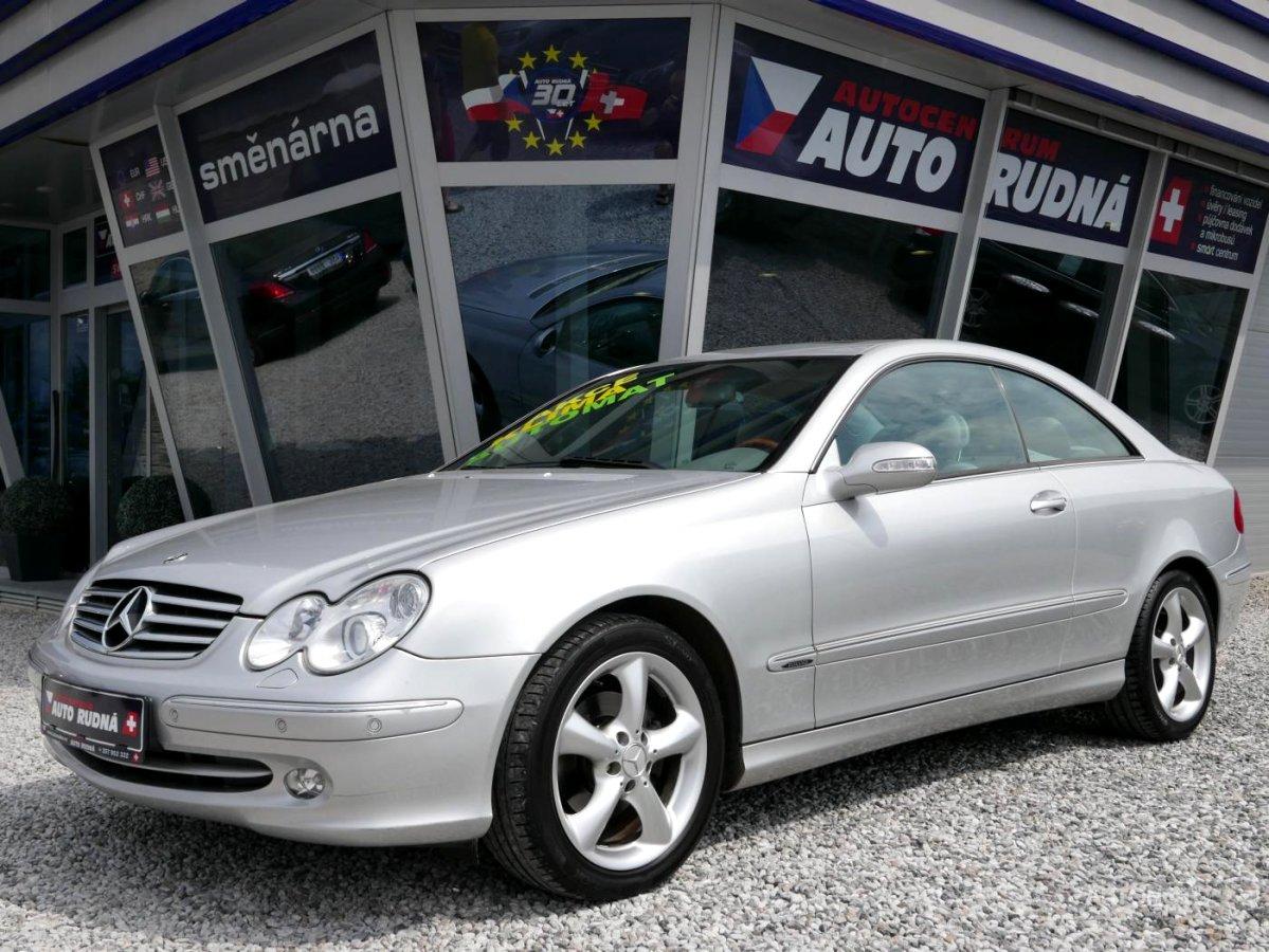 Mercedes-Benz CLK, 2004 - celkový pohled