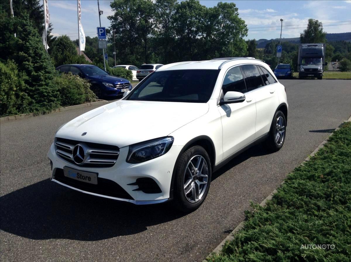 Mercedes-Benz GLC, 2018 - celkový pohled