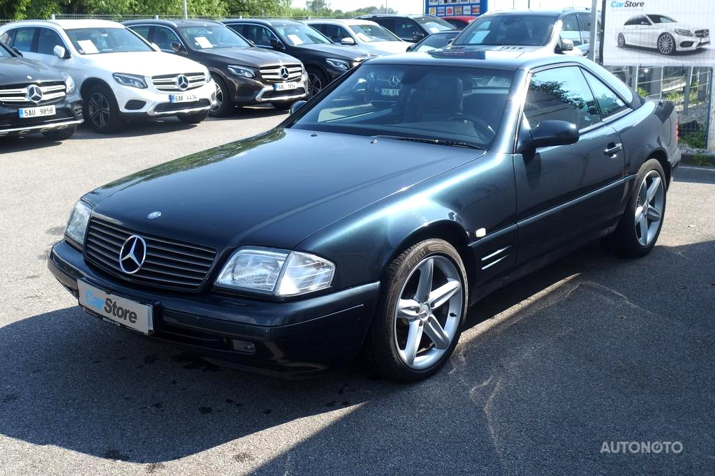 Mercedes-Benz SL, 1999 - pohled č. 2