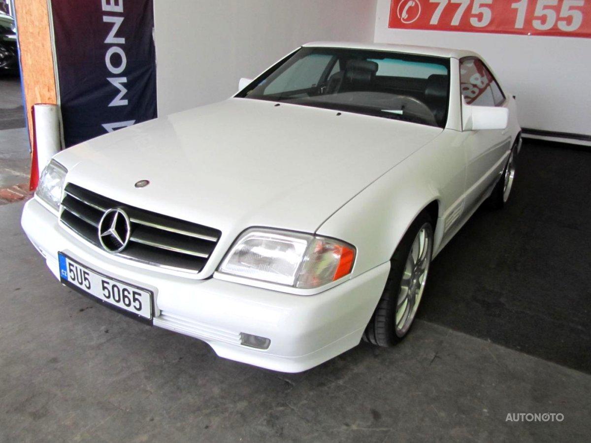 Mercedes-Benz SL, 1992 - celkový pohled