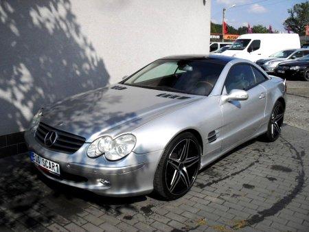 Mercedes-Benz SL, 2001