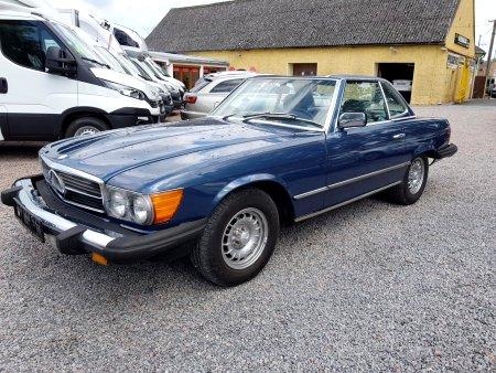 Mercedes-Benz SL, 1982