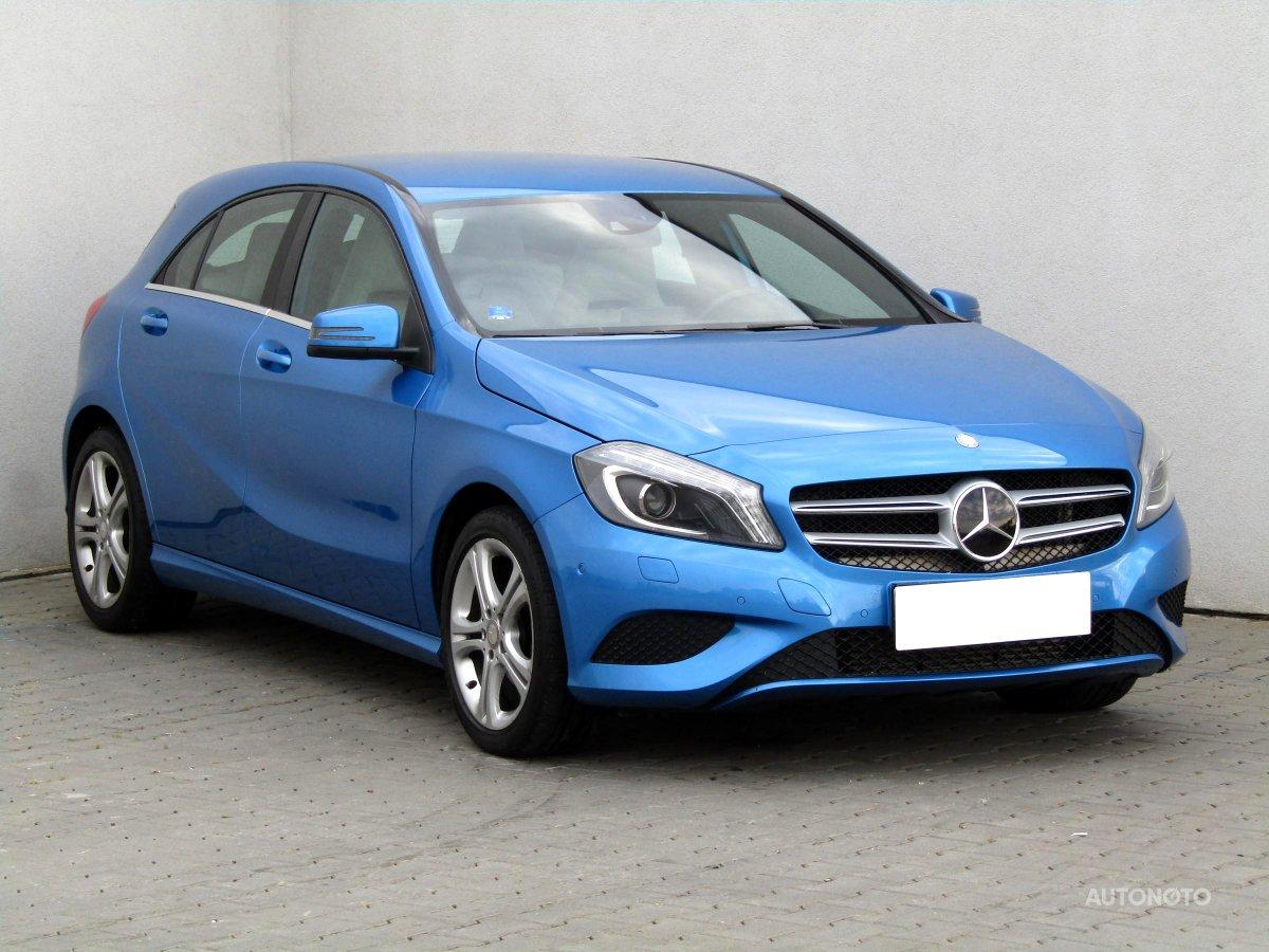 Mercedes-Benz Třídy A, 2014 - celkový pohled