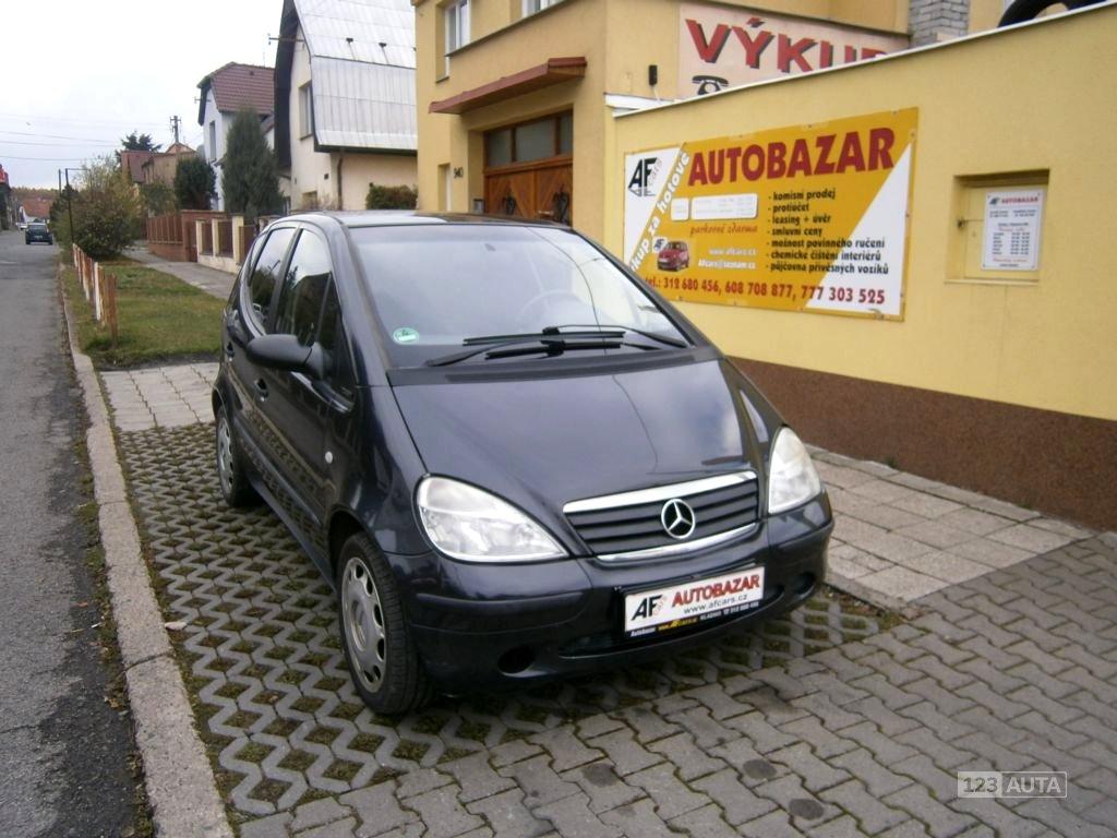 Mercedes-Benz Třídy A, 2001 - celkový pohled