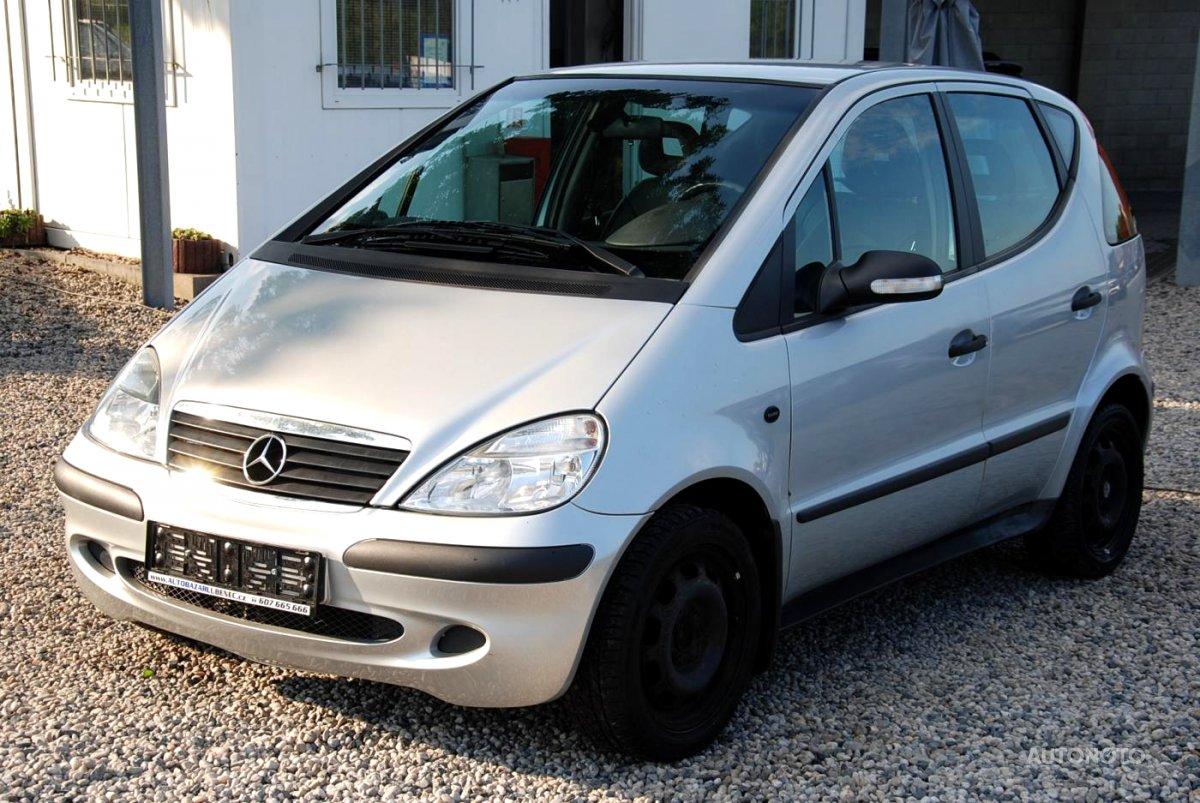Mercedes-Benz Třídy A, 2004 - celkový pohled