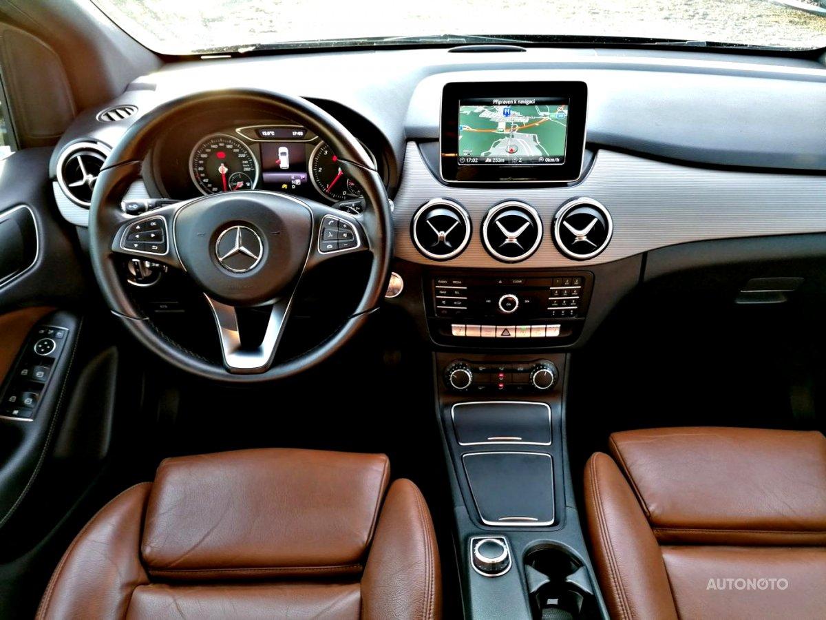 Mercedes-Benz Třídy B, 2016 - celkový pohled