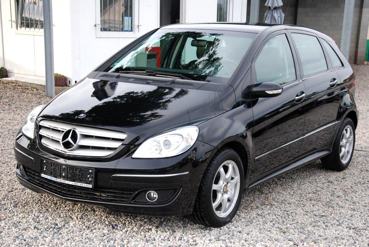Mercedes-Benz Třídy B, 2008 - celkový pohled