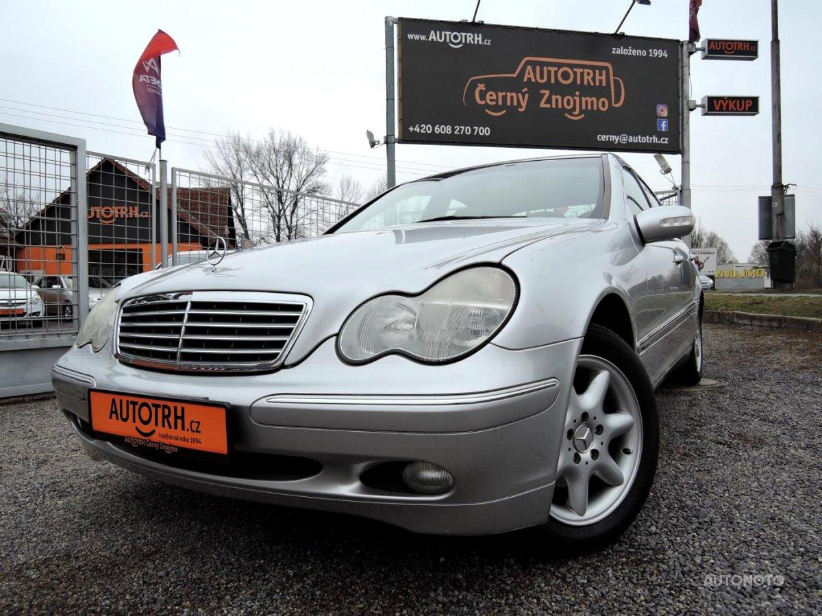 Mercedes-Benz Třídy C, 2002 - celkový pohled