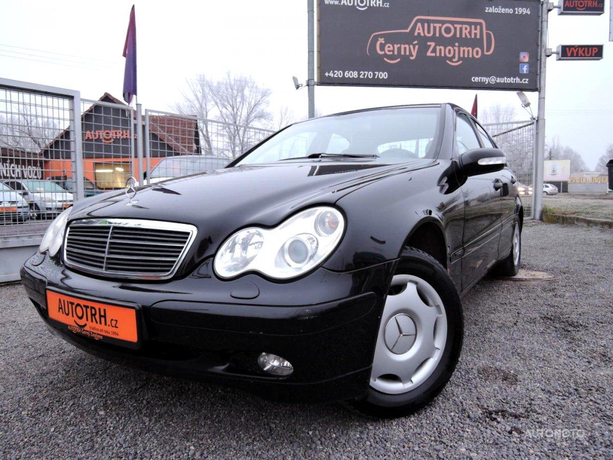 Mercedes-Benz Třídy C, 2003 - celkový pohled