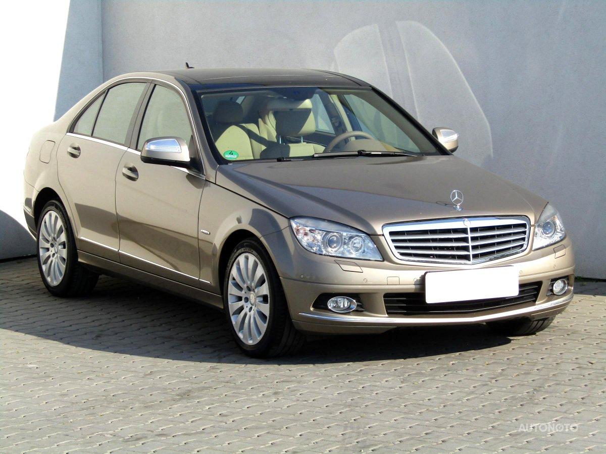 Mercedes-Benz Třídy C, 2008 - celkový pohled