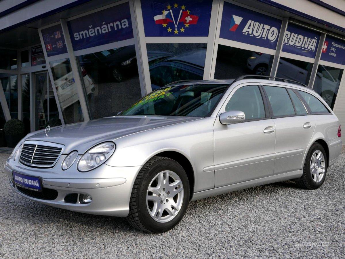 Mercedes-Benz Třídy E, 2005 - celkový pohled
