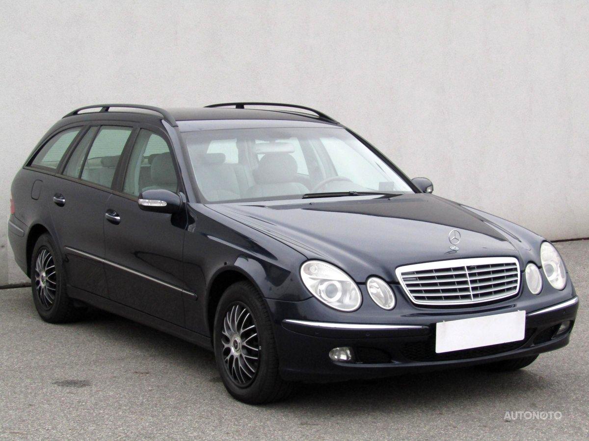 Mercedes-Benz Třídy E, 2006 - celkový pohled
