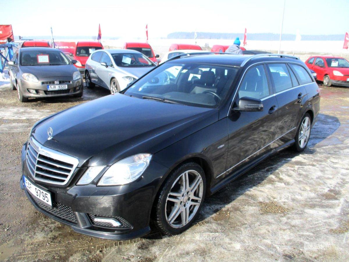Mercedes-Benz Třídy E, 2011 - celkový pohled