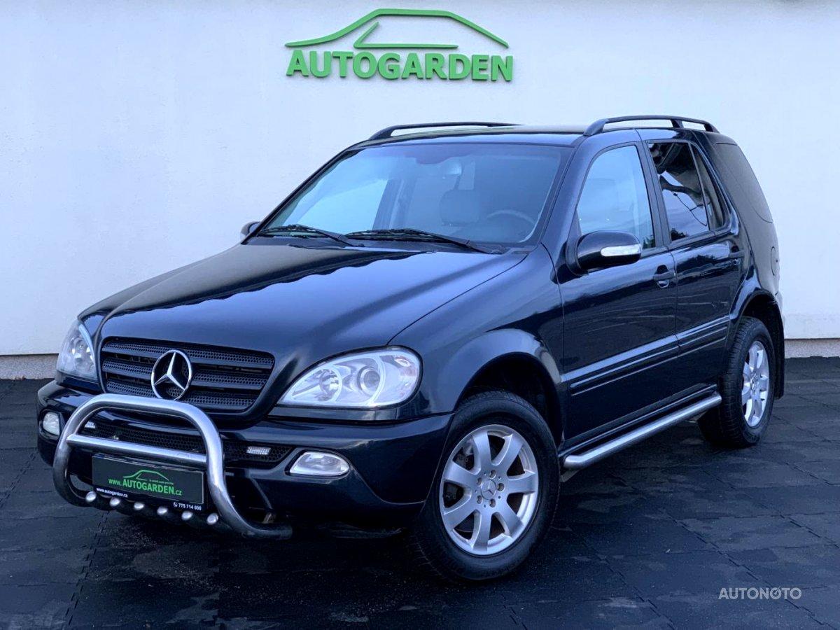 Mercedes-Benz Třídy M, 2002 - celkový pohled