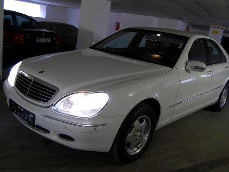 Mercedes-Benz Třídy S, 1999