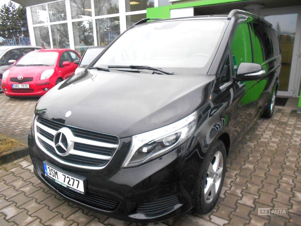 Mercedes-Benz Třídy V, 2015 - celkový pohled