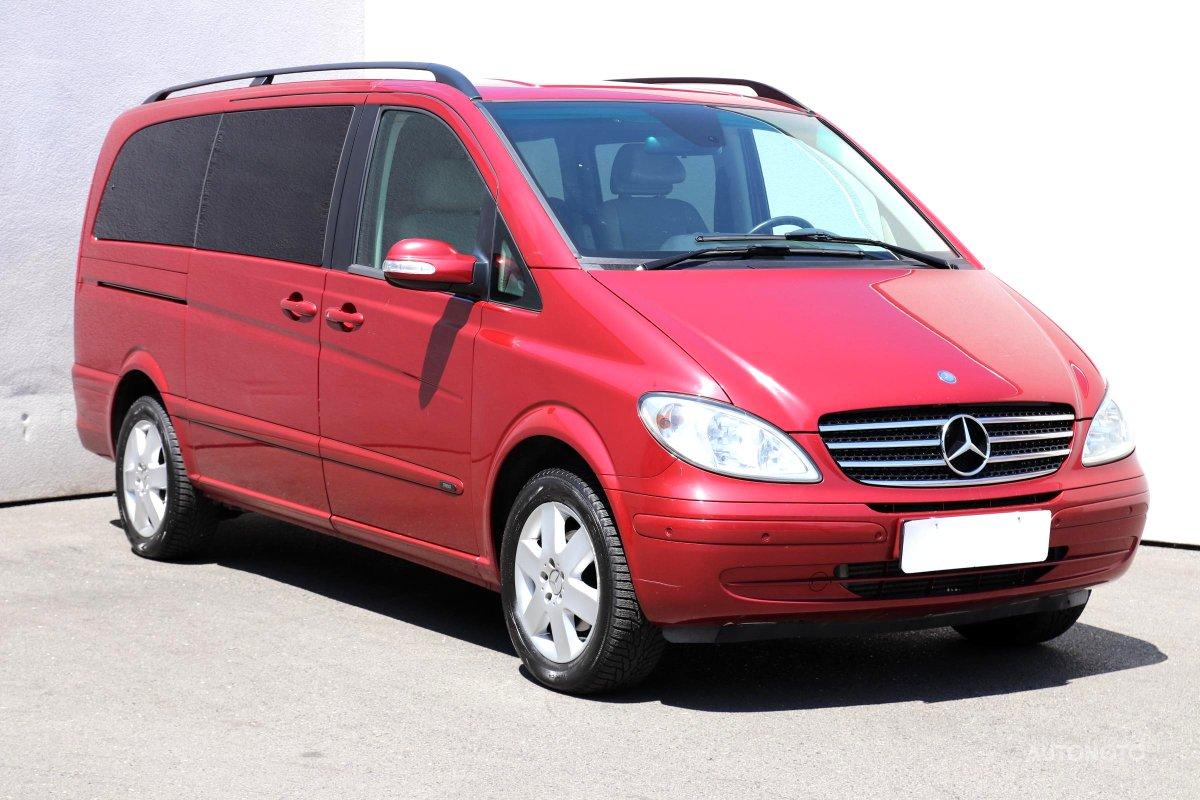 Mercedes-Benz Viano, 2009 - celkový pohled