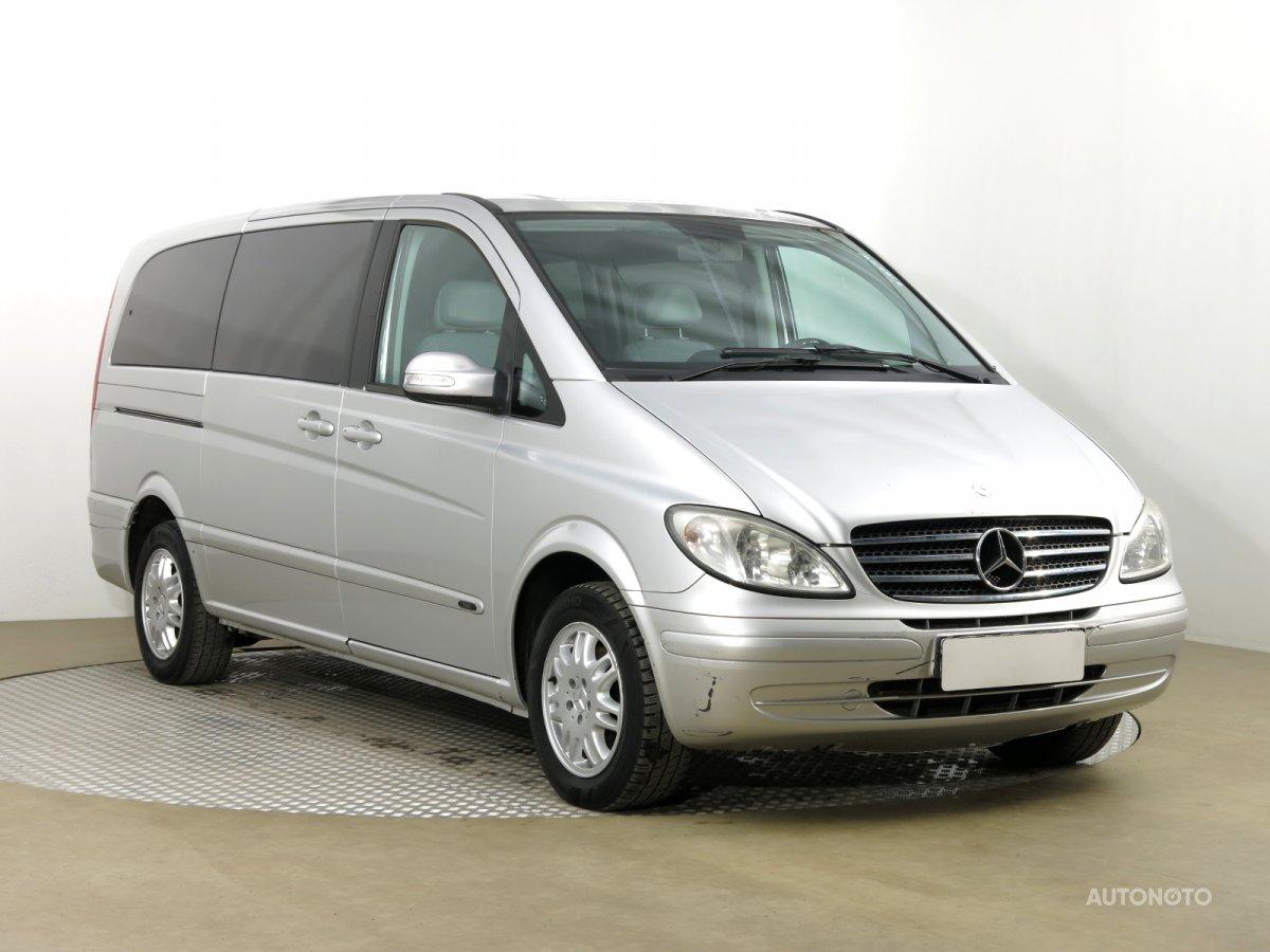Mercedes-Benz Viano, 2007 - celkový pohled